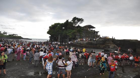 The beginning of 2019 at Tanah Lot