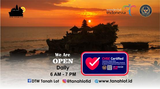 Tanah Lot Already CHSE Certified
